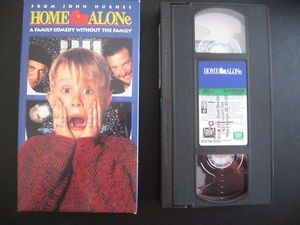 Home Alone. The first. Not on DVD. VHS.