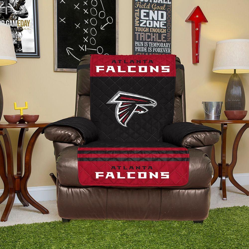 Nfl Atlanta Falcons Recliner Cover Arm Chair Animal Furniture