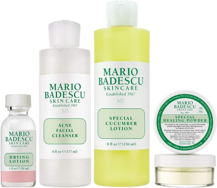 Mario Badescu Acne Skin Care Kit In 2019 Products Acne
