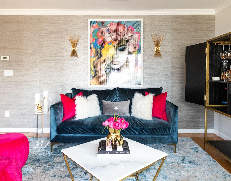 Fashion Inspired Glam Living Room Decor Gothic Home Decor Interior Design
