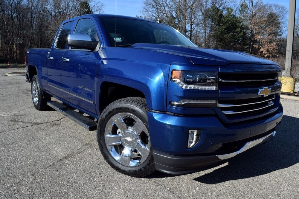 For Sale 2017 Chevrolet Silverado 1500 4x4 Ltz Edition Z71 Off