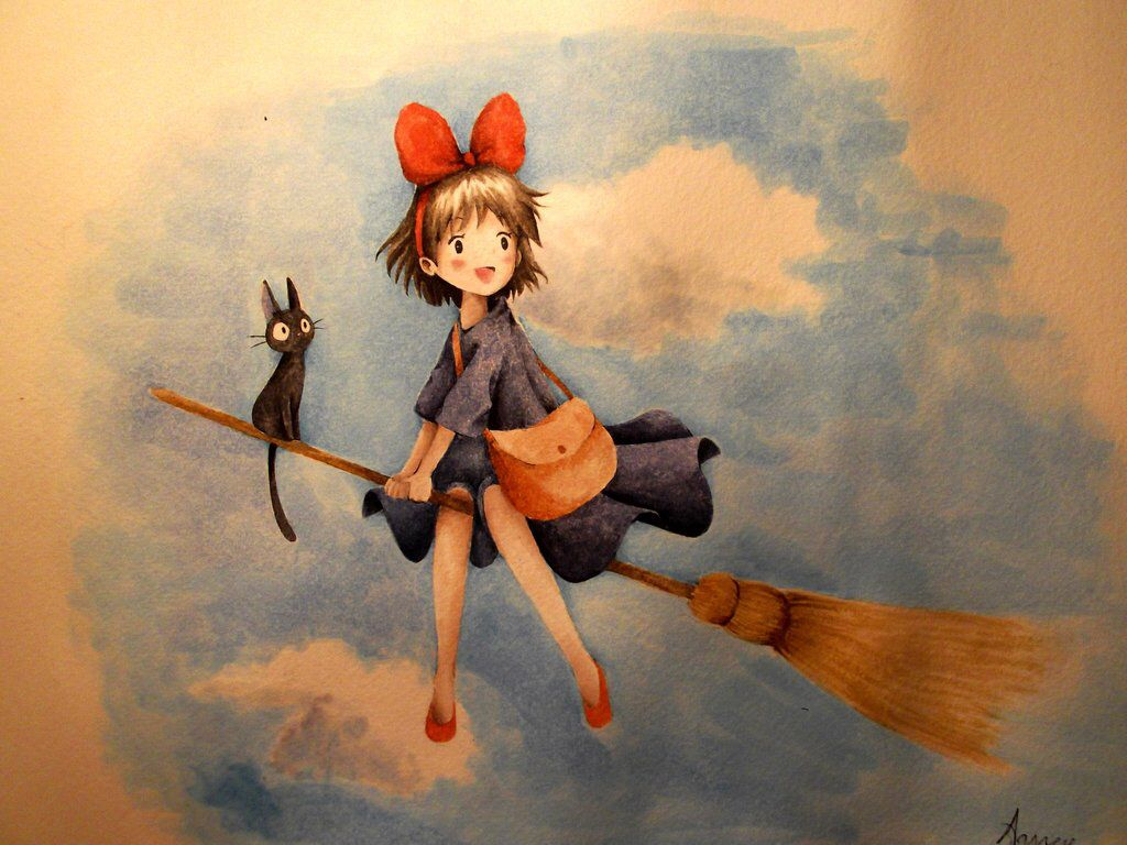 Kiki Delivery Service by LadyAgny on @DeviantArt