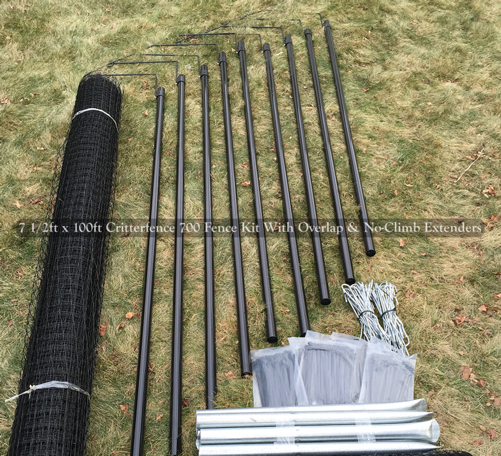 200' Cat Fence Conversion Kit (1' Extension) Cat fence
