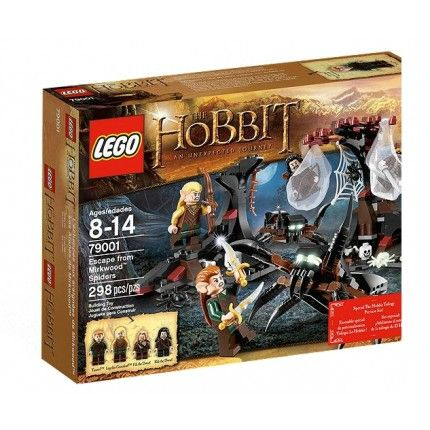 Lego: The Hobbit An Unexpected Journey - Escape from Mirkwood Spiders - £24.99