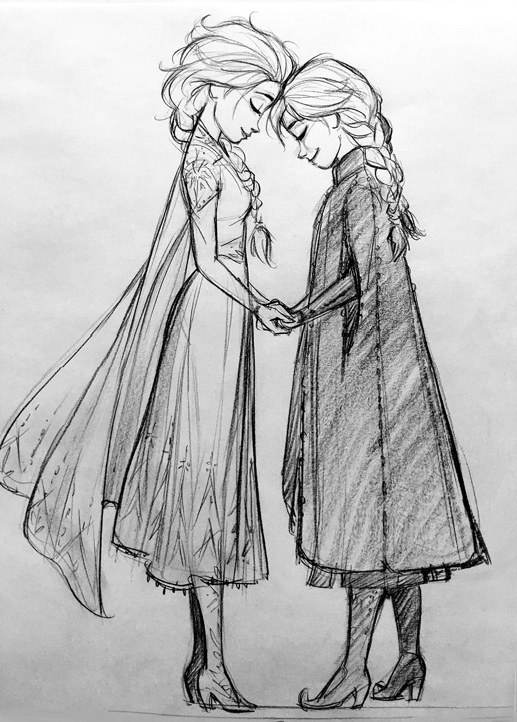 Frozen 2 Is Here Finally So Much Fun To Draw Cosmoanimato In 2020 Disney Character Drawings Disney Drawings Sketches Frozen Drawings