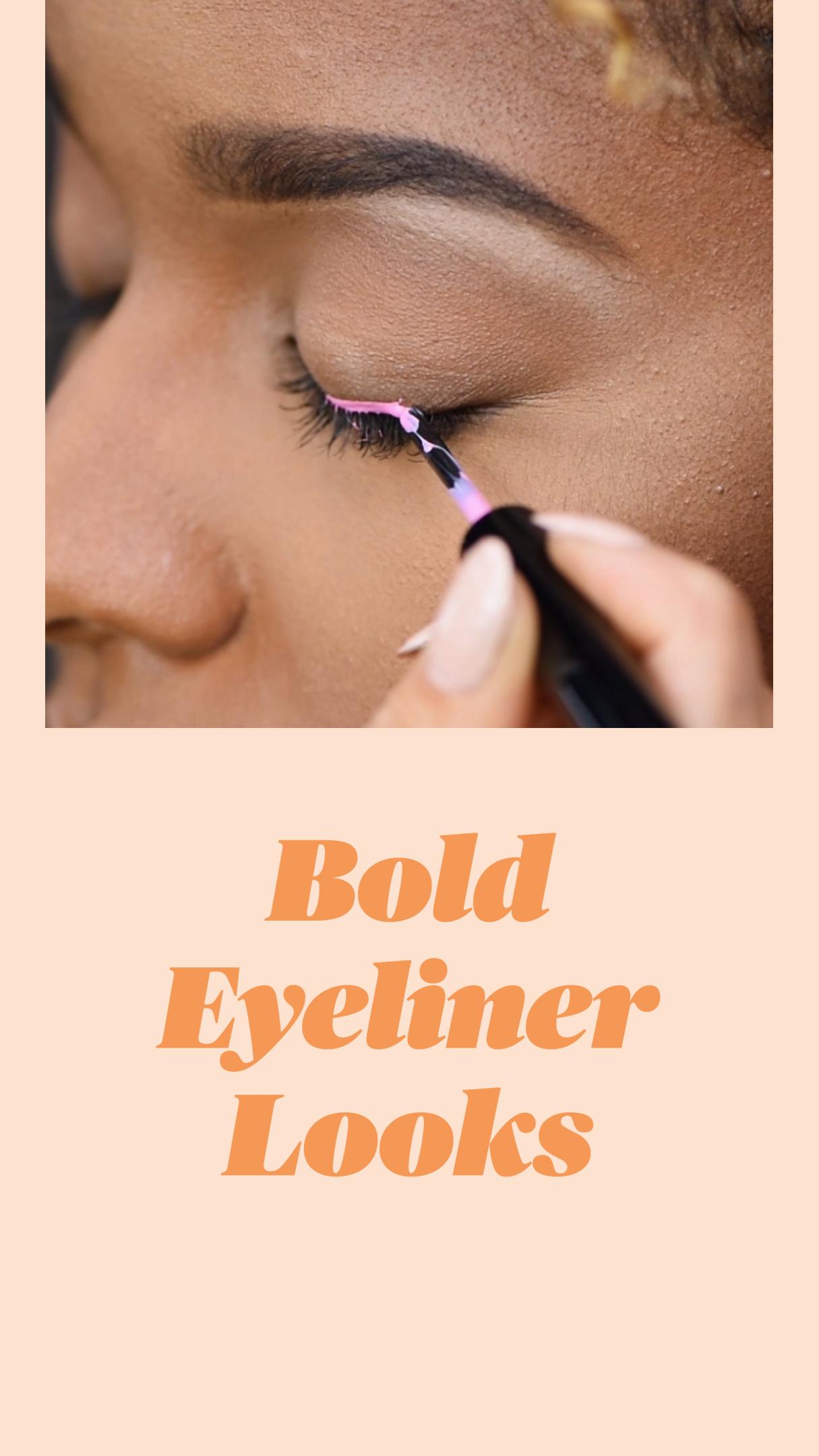 Bold EyelinerLooks