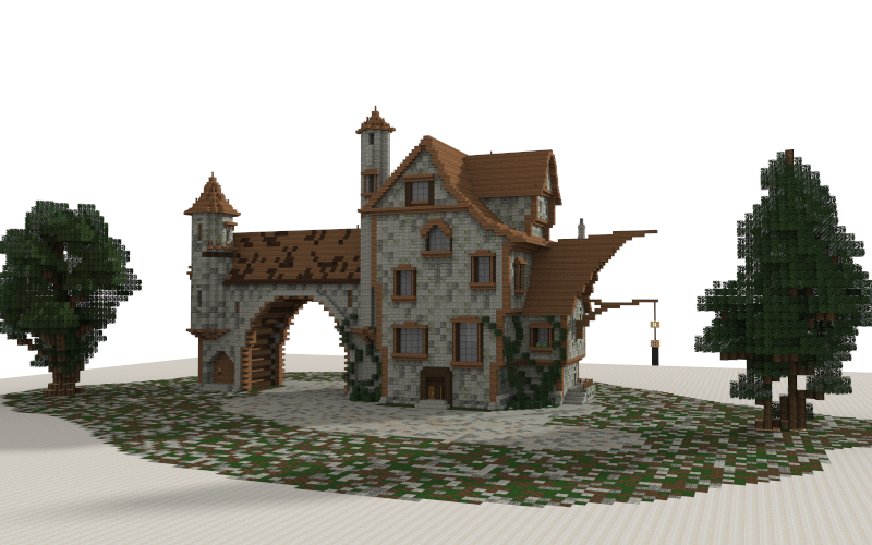 Medieval House I Made In Minecraft Download Link
