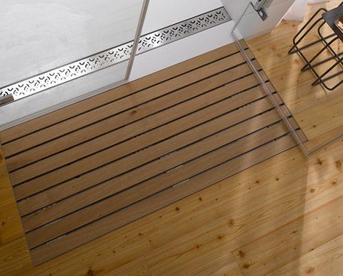 Wooden Shower Grate Drains By Aco Trending Decor Lakehouse Decor Modern House Design
