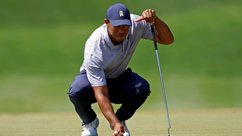 Tiger Woods Recounts What He Believes To Be His Best Shot From 2019 Masters Victory Tees Time Players Championship Tiger Woods