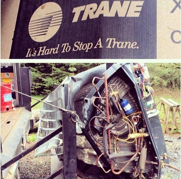It S Hard To Stop A Trane Hvac Hacks Trane Trane Hvac