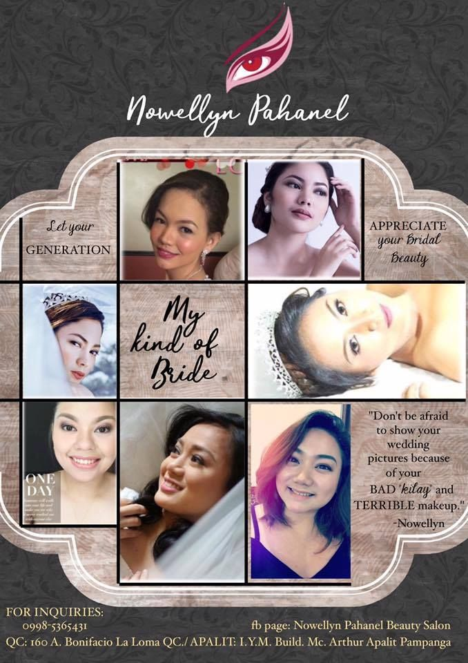 Need A Super Affordable Bridal Salon In Quezon City Check Out Nowellynpahanelbeautysalon Today Http B Bridal Hair And Makeup Bridal Salon Affordable Bridal