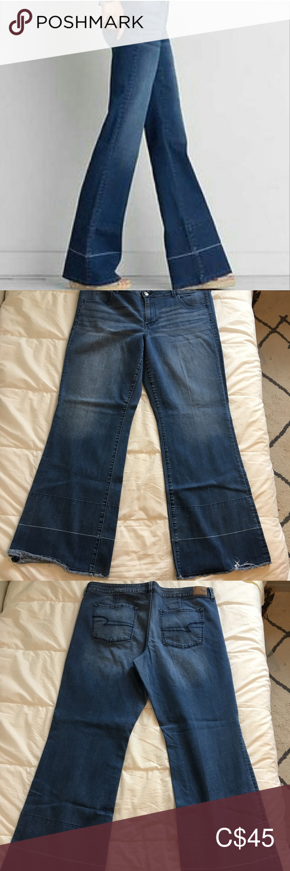 AEO ALine Jeans P264 Lined jeans, American eagle