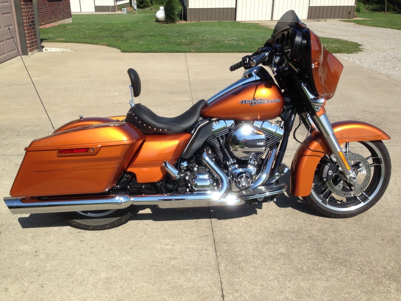 #harley 2015 Harley-Davidson Touring 2015 Amber Whiskey Street Glide  Special please retweet