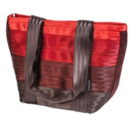Recycled Seatbelt Campus Tote Bags