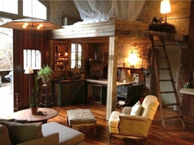 Arredare un monolocale in montagna monolocale loft for Arredamento per case piccole