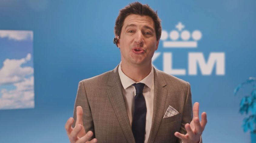 KLM wants you to know one thing: It's an Airline and Ken will explain it all in…
