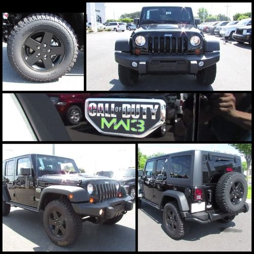 2012 Jeep Wrangler Unlimited Call Of Duty Mw3 Edition 2012 Jeep