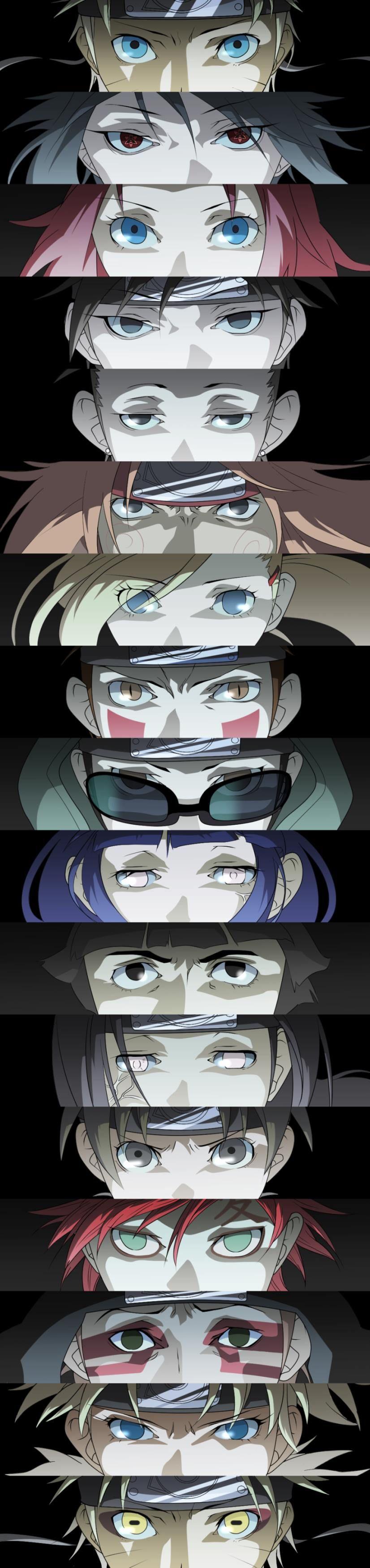 NARUTO SHIPPUDEN, Eye of Naruto