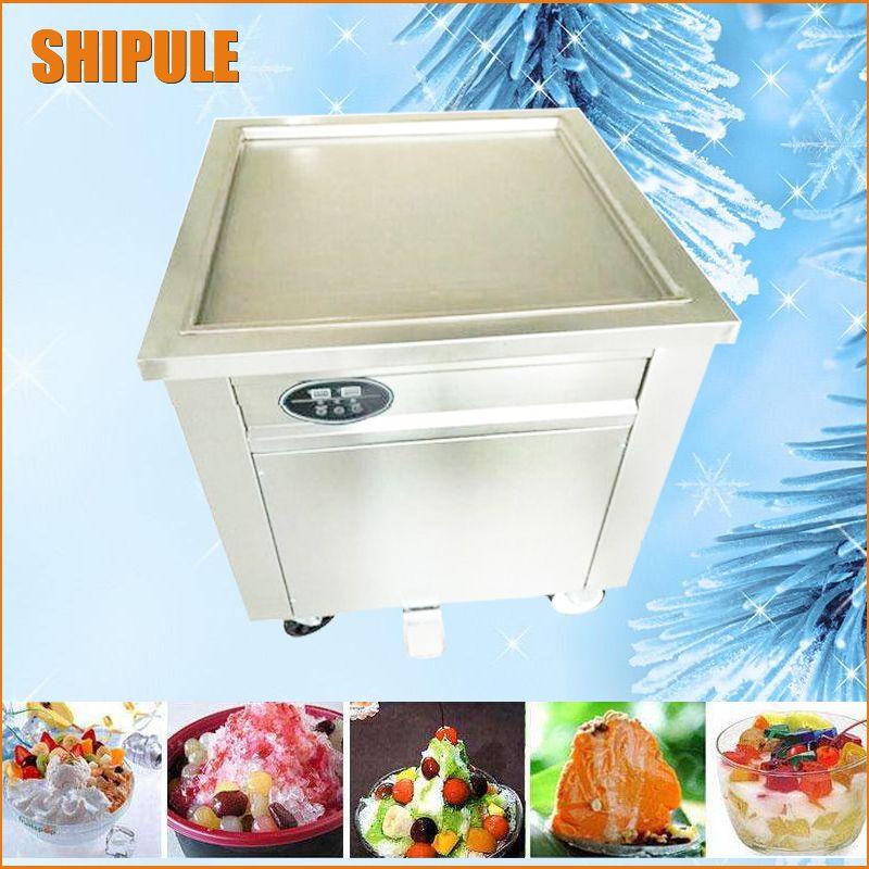 Intelligent Temperature Control 50 50cm Ice Pan Machine Fried Ice