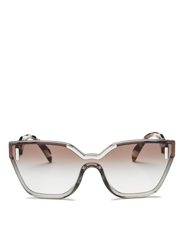 10f817a2cede2 Prada Hide Shield Sunglasses