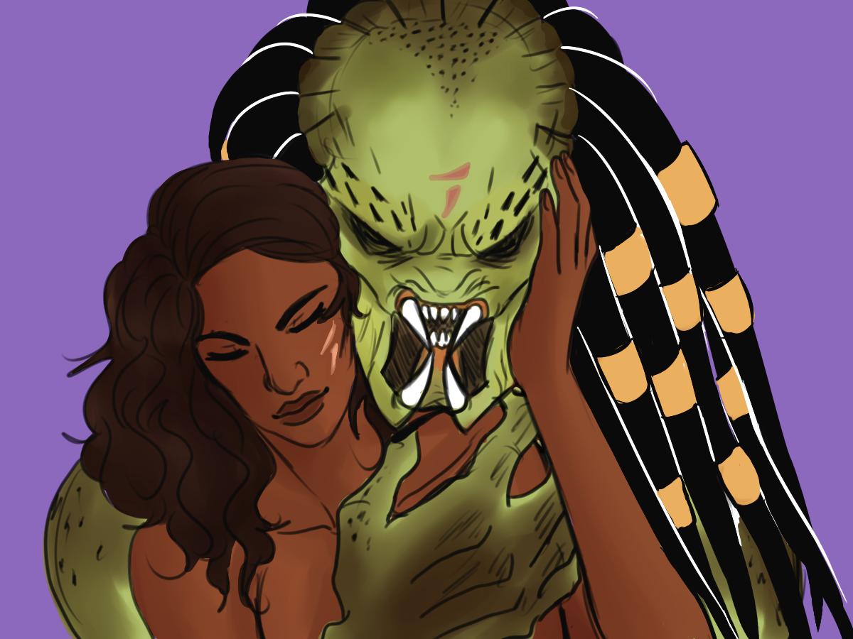scar x lex   yautja in 2019   Predator alien, Alien vs predator
