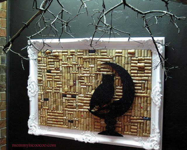 DIY Free Spooky Branch Decoration Black spray paint, Decoration