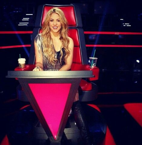 Shakira in The Voice