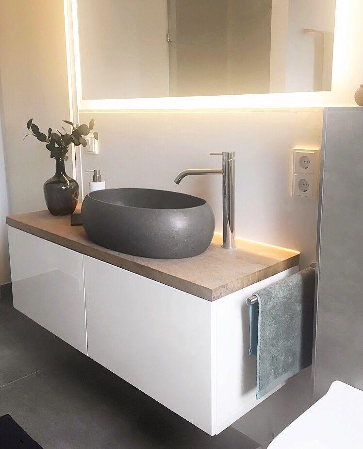 Bathroom Terrazzo Sink Ikea Besta Hack Badezimmer Ideen Ikea Badezimmer Badezimmer Einrichtung