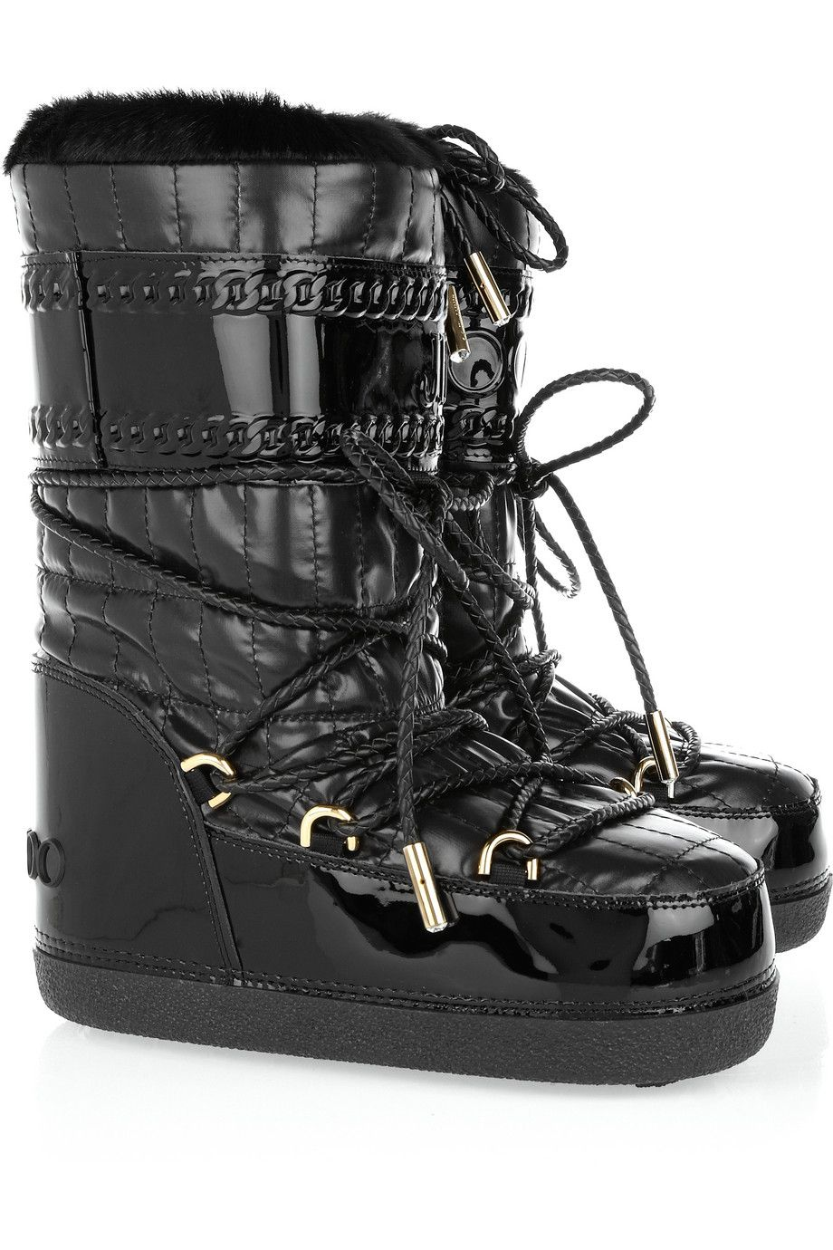 Jimmy choo Leather Snow Boots hpg3r