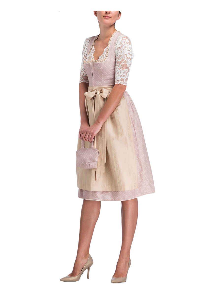 alpenherz dirndlbluse lilly | lace skirt, clothes, midi skirt