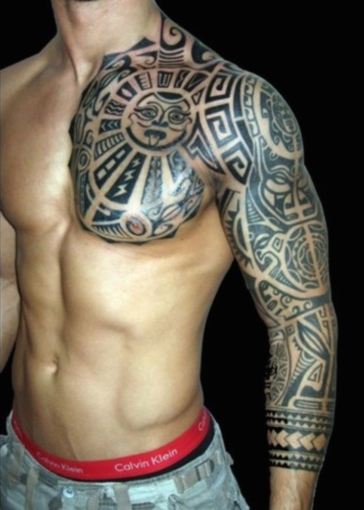 30 Besten Tribal Tattoo Designs Fur Manner Arm Tatoo Ideen