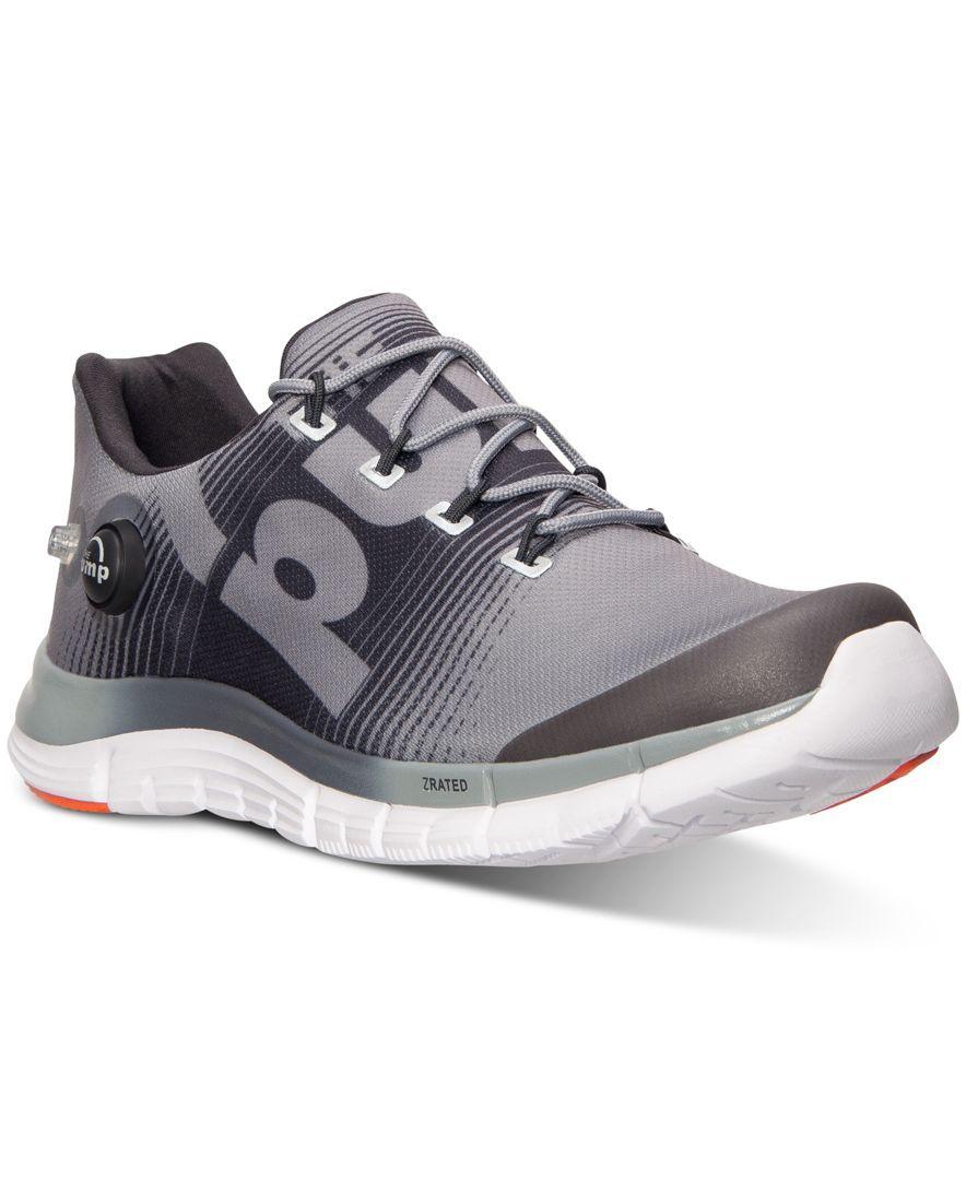 c3b6325d Reebok Men's ZPump Fusion Running Sneakers from Finish Line   Reebok
