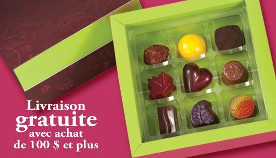 Achat en ligne Chocolaterie Le Cacaoyer