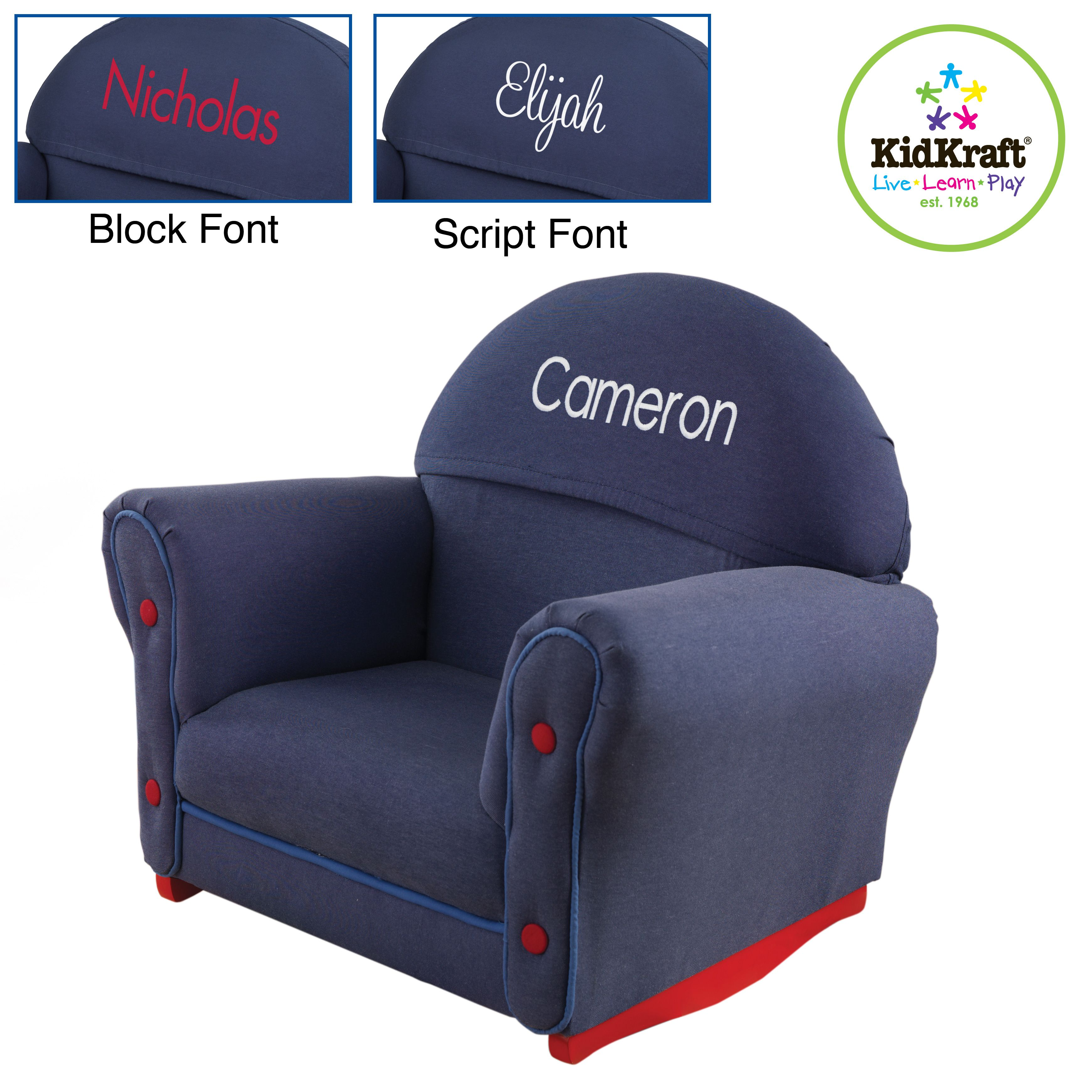 Upholstered rocking chairs personalized upholstered rocking chair  christmas  pinterest