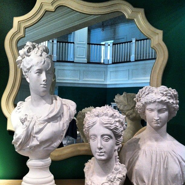 Busts & Mirrors The Decorista-Domestic Bliss: Stanley Furniture meets Woodson & Rummerfield at High Point Market