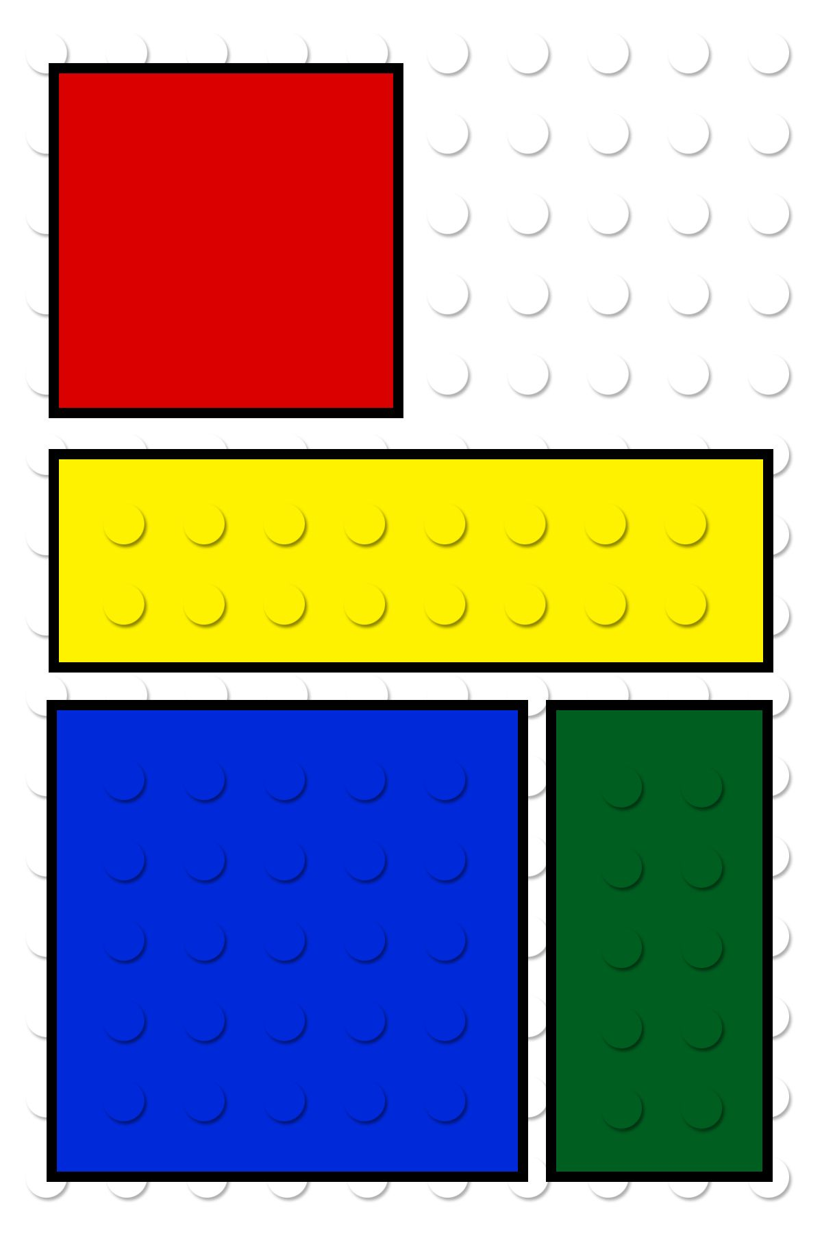 FREE Printable LEGO Building Blocks Cupcake Toppers | Kids ...