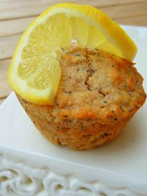 Cookin Cowgirl: Whole Wheat Lemon Poppy Seed Muffins