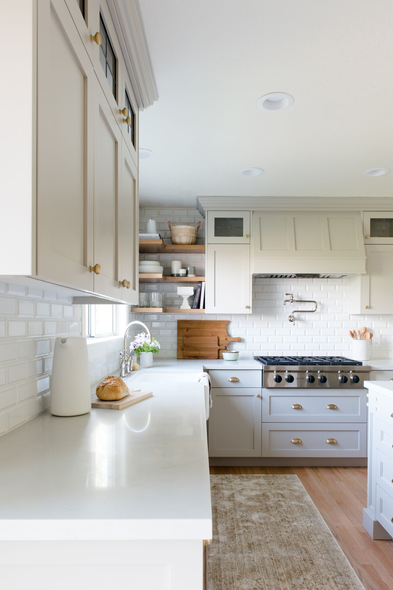 Evergreen Kitchen Remodel Reveal KITCHEN LAUNDRY ROOM