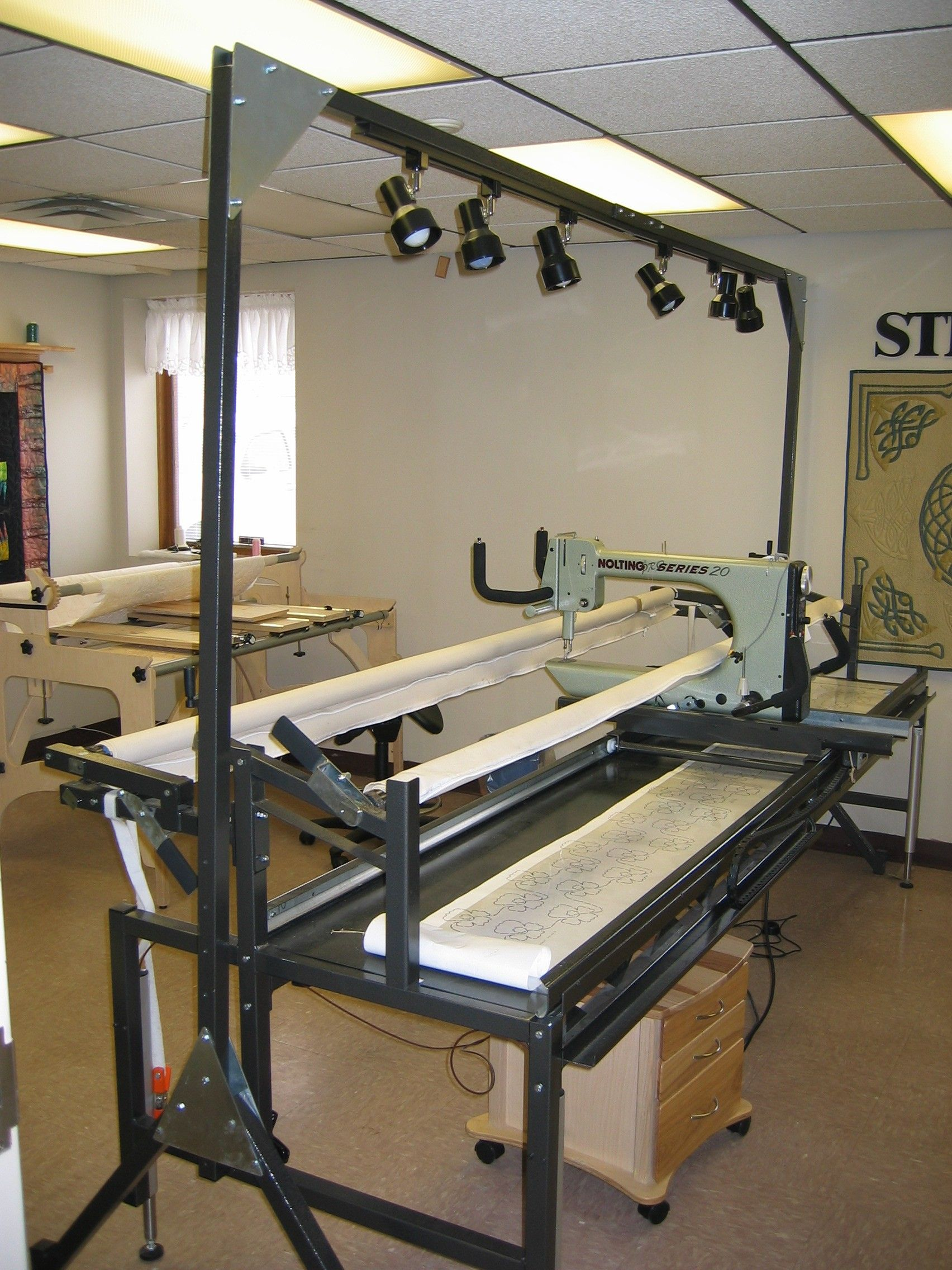 Nolting 174 Longarm Machines Leader In Quality Quilting