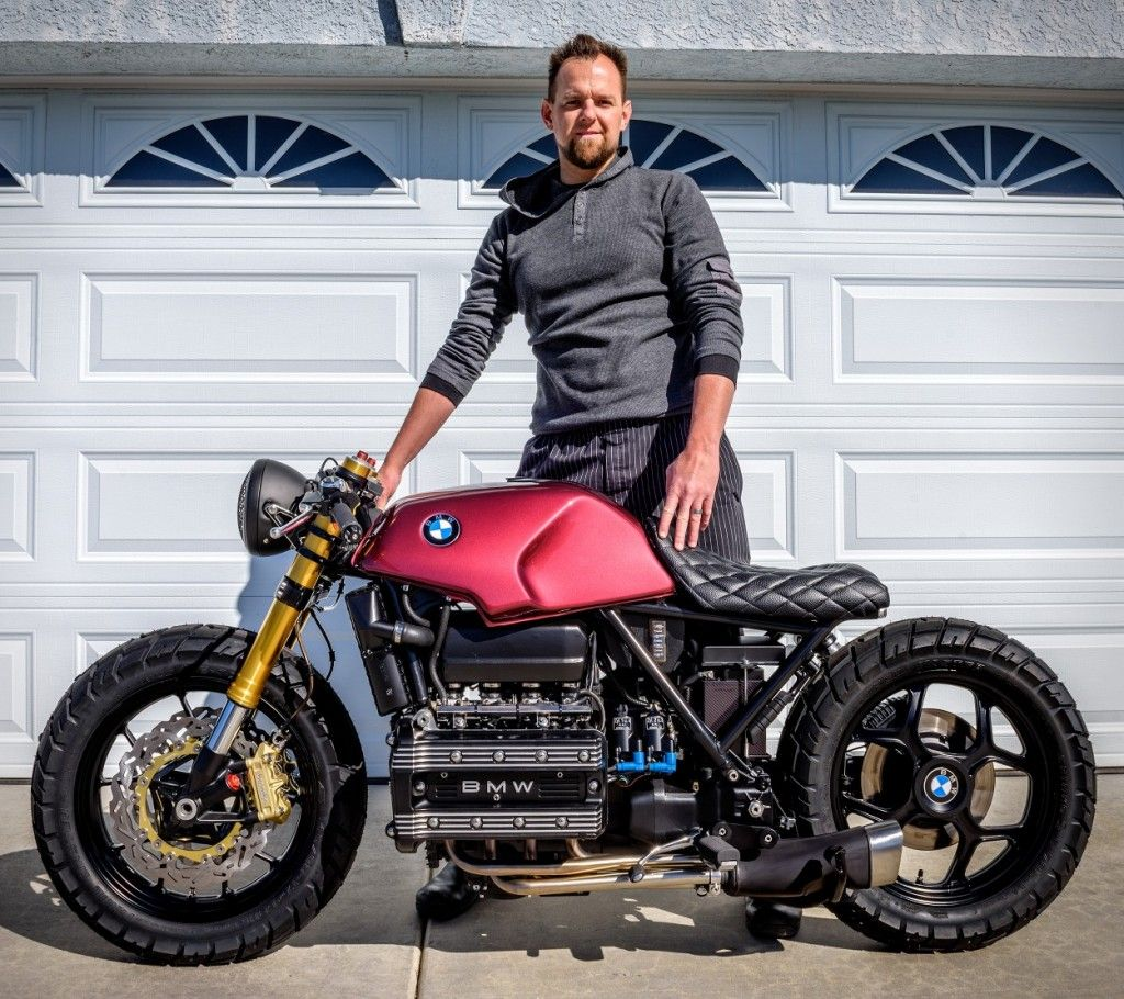 Bmw K100 Bobber Mira With Images Bmw K100 Bike Bmw