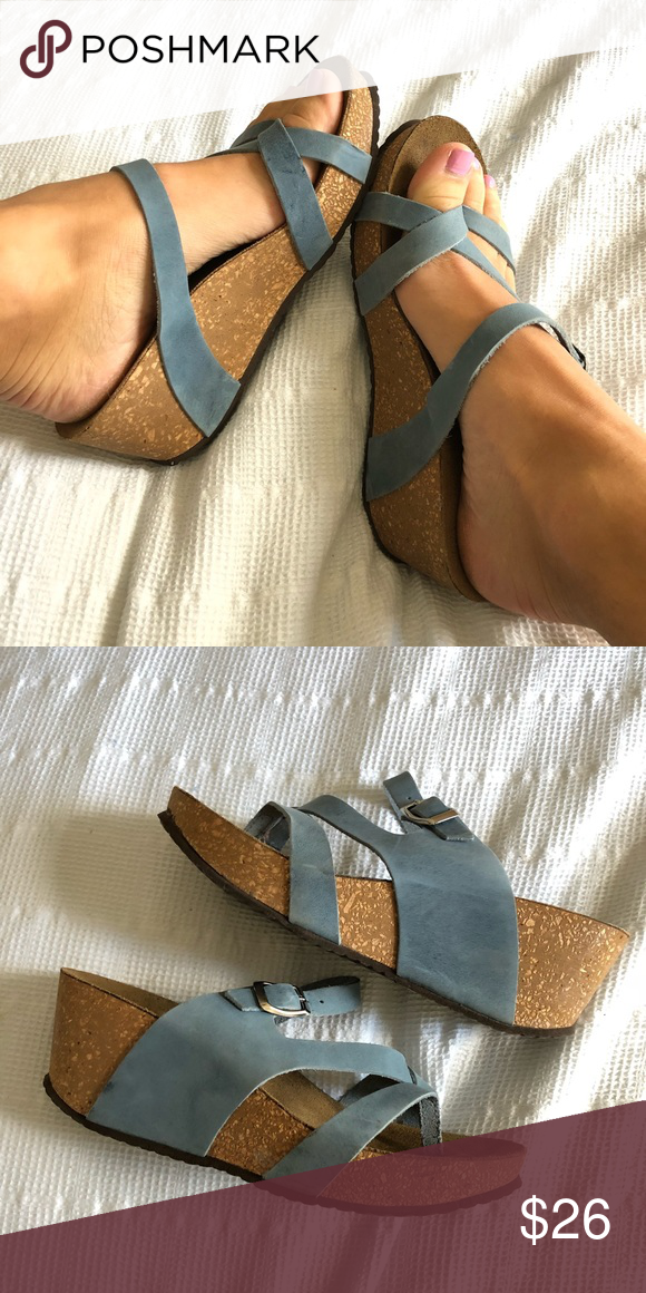 e35220a38e Italian Made Cork Wedges by Marina Luna 🎀Italian Made Wedges/Sandals by Marina  Luna Gently Worn for 1 Summer Season Excellent Condition No Visible Wear Or  ...