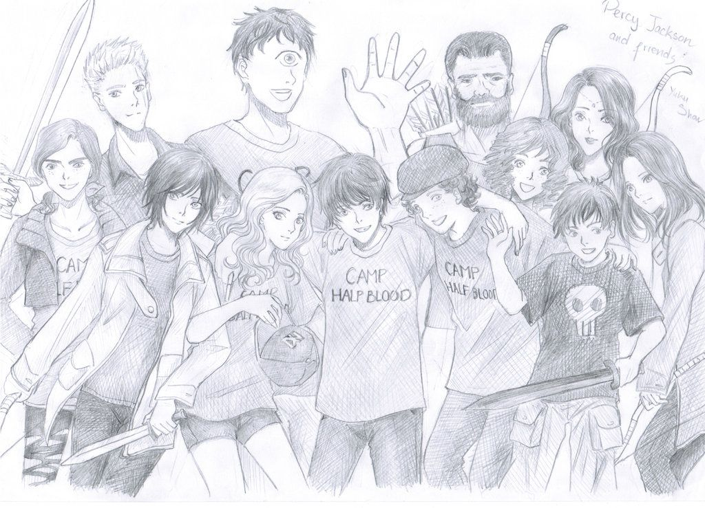 12 Year Old Percy Jackson (Percy Jackson and the Avengers