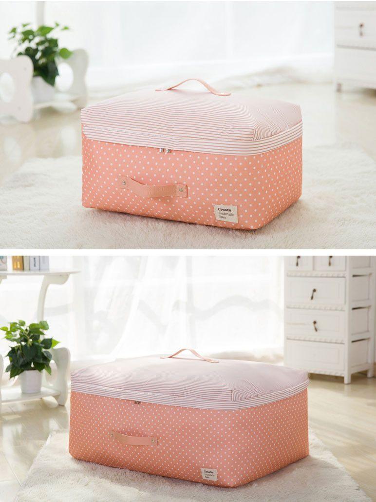 Awesome Pink Polka Dot Storage Bag For Wedding Dress | Evening Dress