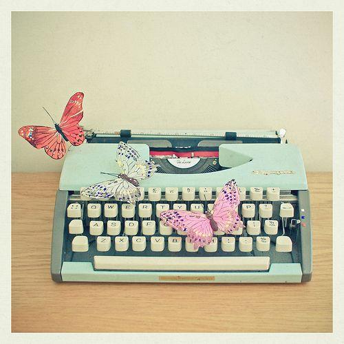 Use the typewriter