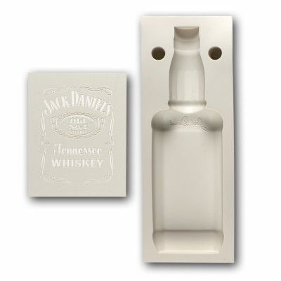 Jack Daniels Cake Pan And Stencil