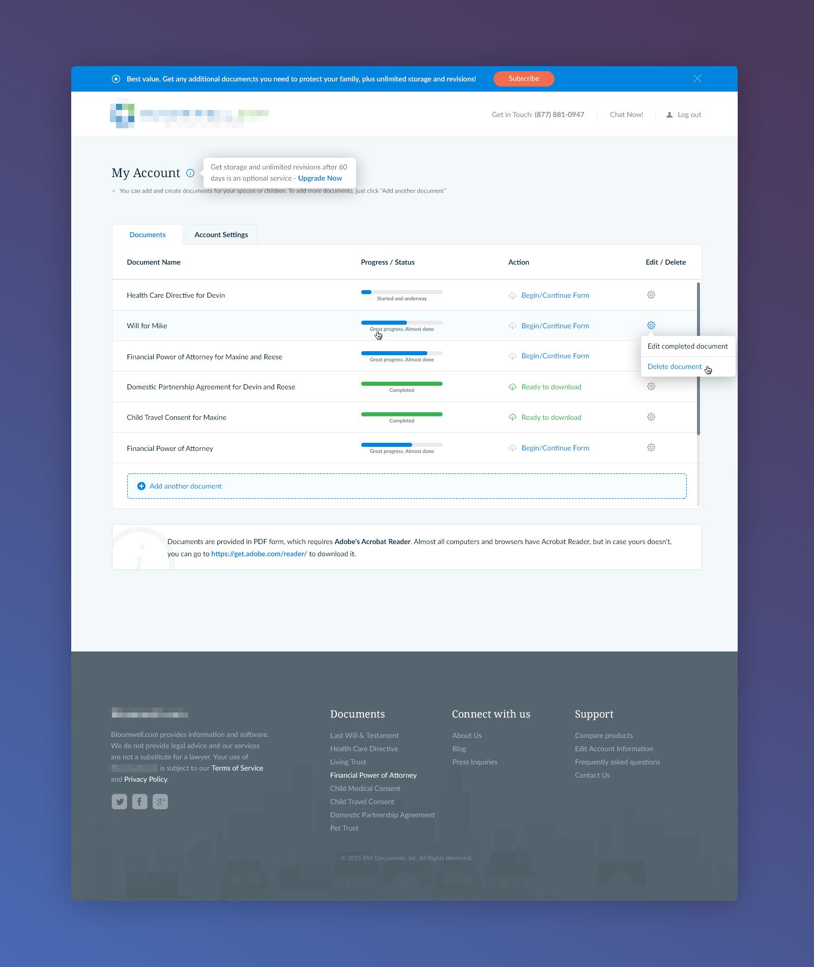 B My Account Png By Konrad Ksiezopolski Accounting App Interface Web Design