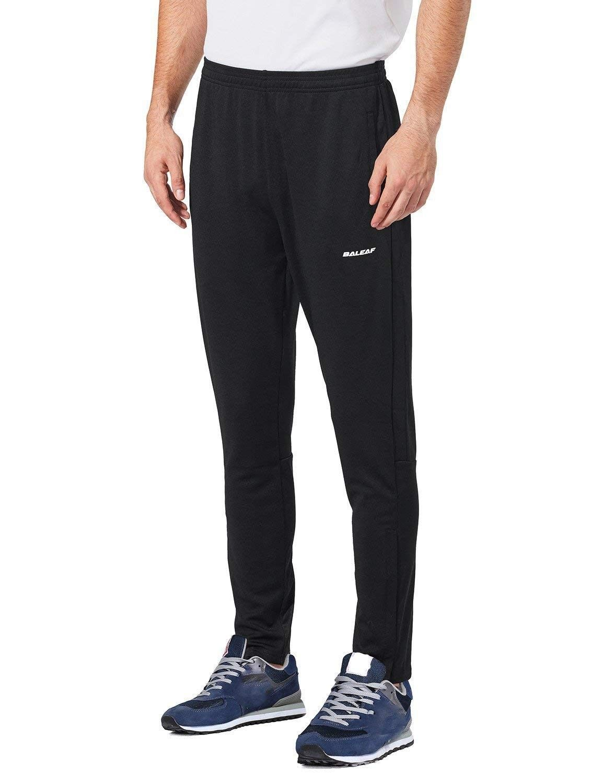 Men's Soccer Warm Up Pants Running Training Jogging Zip
