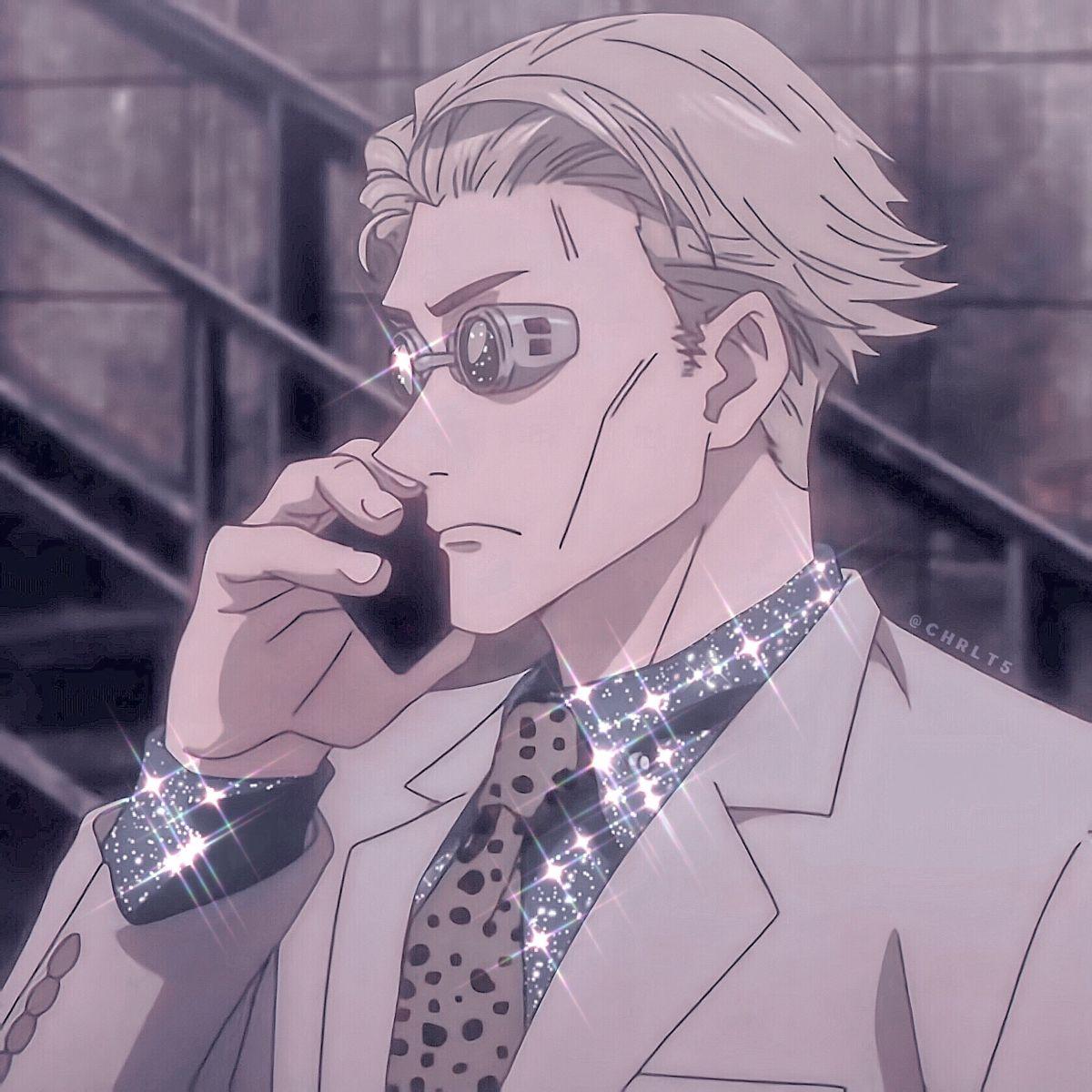 Nanami Kento Icon ʿ𖠄 In 2021 Dark Anime Nanami Anime Wallpaper Phone