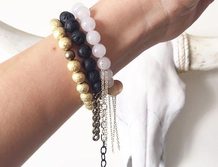 beaded bracelets for the boho chick #kayandjobracelets #boho www.kayandjo.com