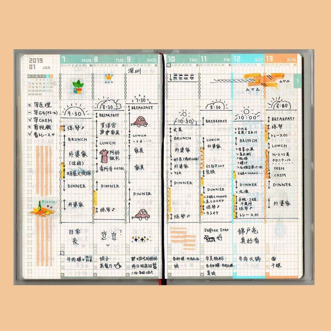 Kokuyo Jibun Techo 2021 Diary